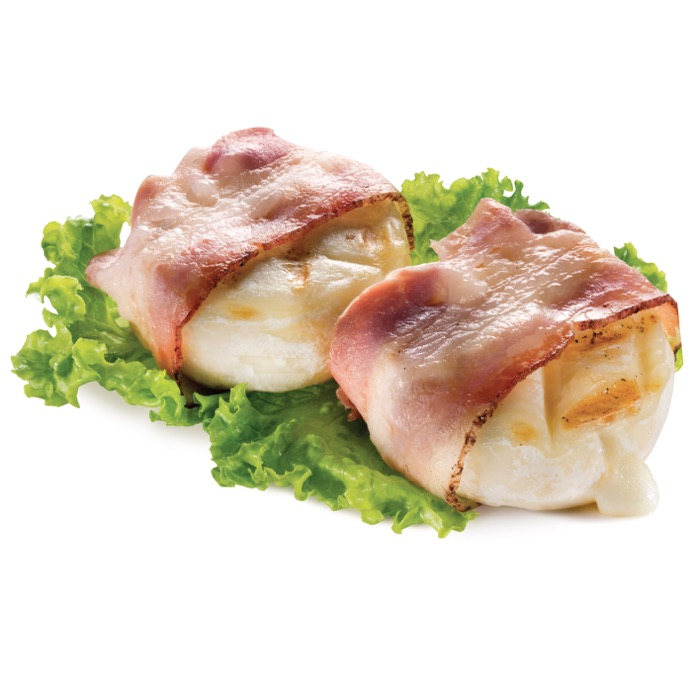 Mini tomini con bacon